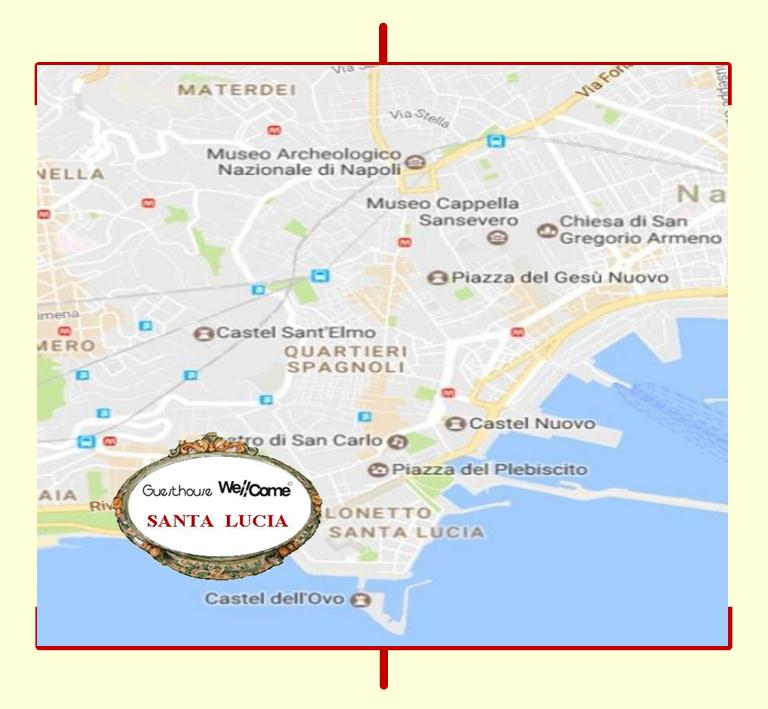 mappa WELL COME CULTURA - SANTA LUCIA