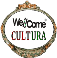 TARGA TONDA WELL COME CULTURA